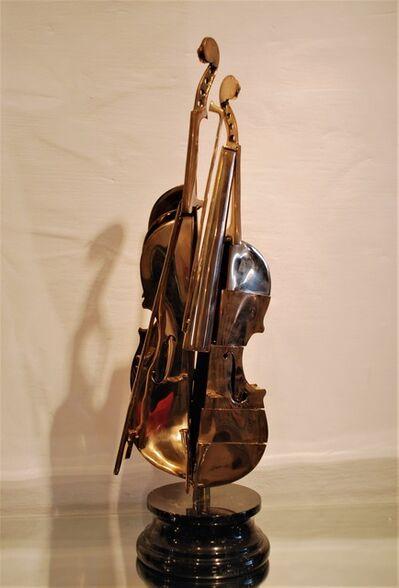 Arman, 'Pizzaiola Violin', 2004
