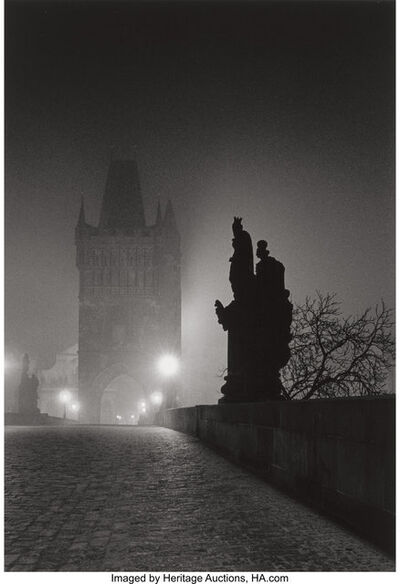 Michael Kenna, 'Charles Bridge, Study 4, Prague, Czechoslovakia', 1989