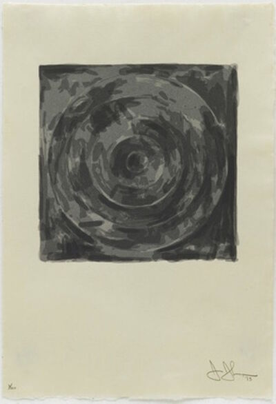 Jasper Johns, 'Target, from Meyer Shapiro', ca. 1973