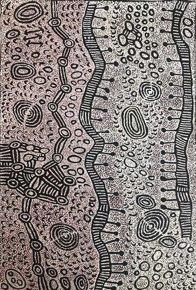 Yinarupa Nangala, 'Untitled - Mukula (Rockhole)', 2018