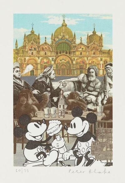 Peter Blake, 'Venice Fantasies with Mickey's Birthday Party', 2009