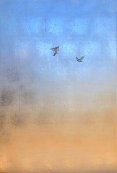 Carolyn Reynolds, 'Hummers in Blue Sky II', 2019