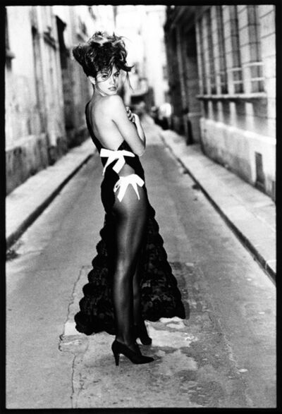 Arthur Elgort, 'Cindy Crawford, Paris, British Vogue', 1990