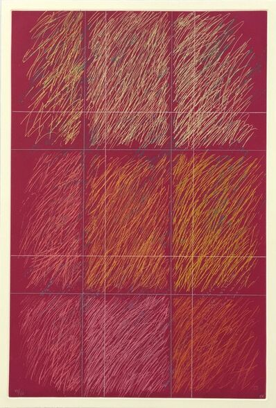 Kenneth Noland, 'Roy', 1990