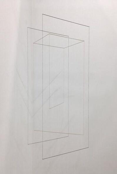 Jong Oh, 'Line Sculpture (Cuboid) #34', 2019