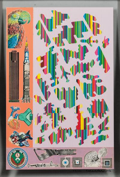 Eduardo Paolozzi, 'Human Fate and World Powers from Zero Energy Experimental Pile I', 1970