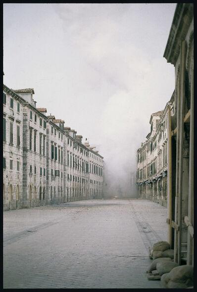 PAVO URBAN, 'Last images - Dubrovnik, 6 XII 1991', 1991
