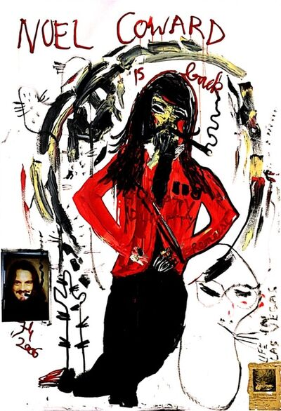 Jonathan Meese, 'Noel Coward is back VII', 2006