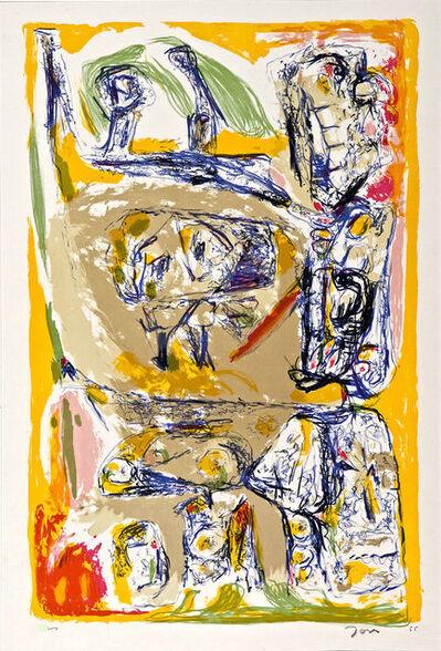 Asger Jorn, 'Les Suedoise s'Amusent', 1955