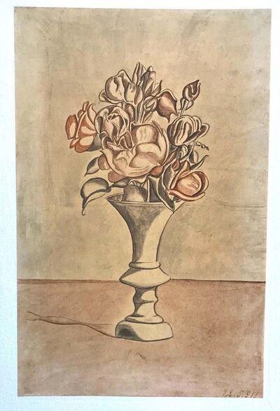 Giorgio Morandi, 'Vase with Flowers ', 1973