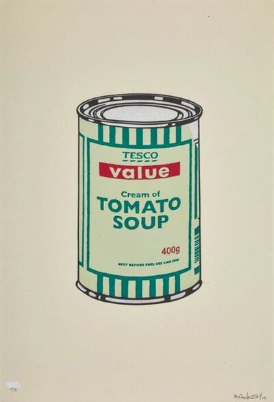Banksy, 'Soup Can', 2005