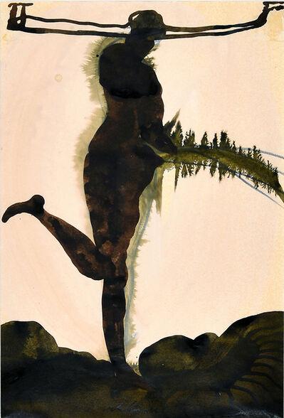 Cornelia Schleime, 'Pissing woman', 1996