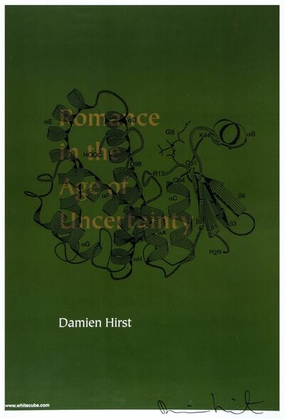 Damien Hirst, 'Romance in the Age of Uncertainty (Signed)', 2003