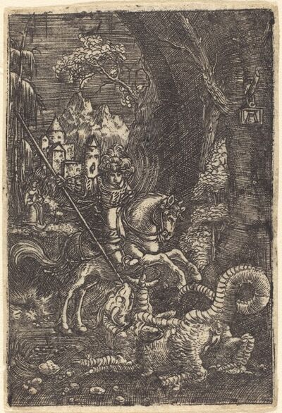 Albrecht Altdorfer, 'Saint George', ca. 1515/1518