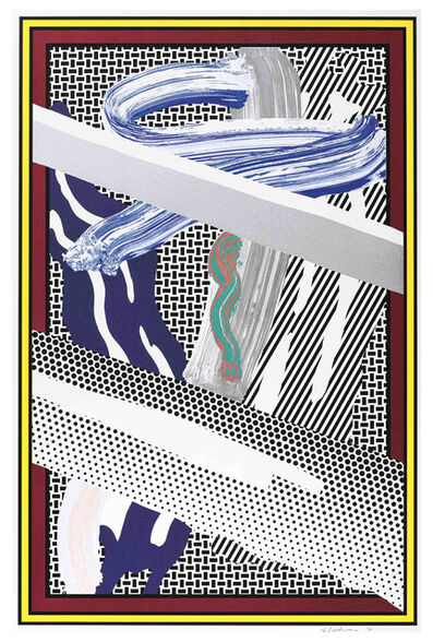 Roy Lichtenstein, 'Reflections on Expressionist Painting from The Carnegie Hall 100th Anniversary Portfolio', 1990