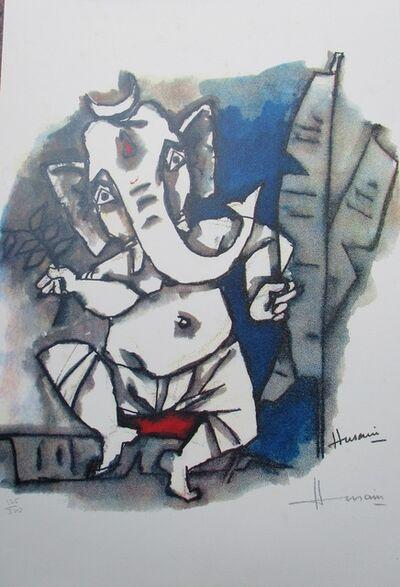 M. F. Husain, 'Ast Vinayak', Edition :125/300