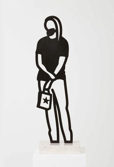 Julian Opie, 'Long hair,Boston Statuettes', 2020