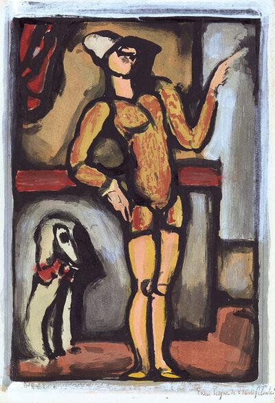 Georges Rouault, 'Auguste (Clown au chien)', 1934