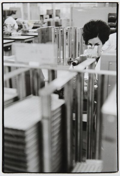 Henri Cartier-Bresson, 'Computer Plant, Mainz, Germany', 1971