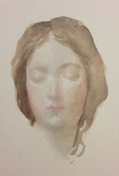 Carmen chofre García, 'Head (after Velezquez)', 2017