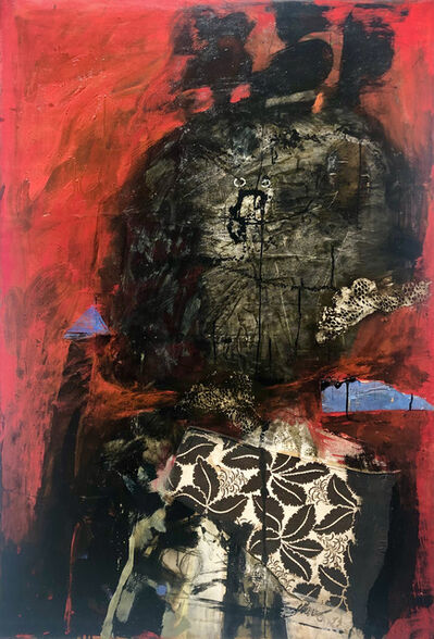 Antoni Clavé, 'Guerrier à la Lance', 1959