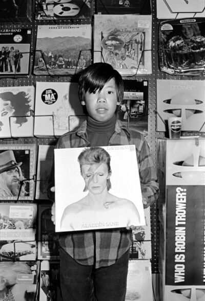 Michael Jang, 'Chris in Record Store, from the series The Jangs', 1973