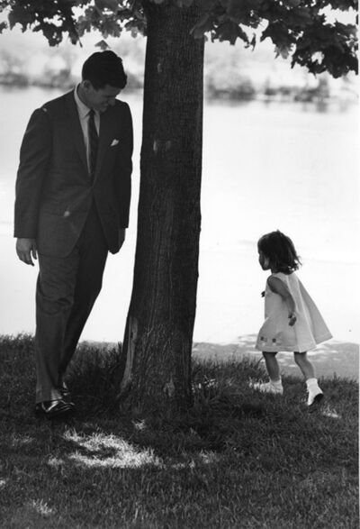 Vytas Valaitis, 'Ted Kennedy with His Daughter, Kara (Two Photos)', 1960s/1960s