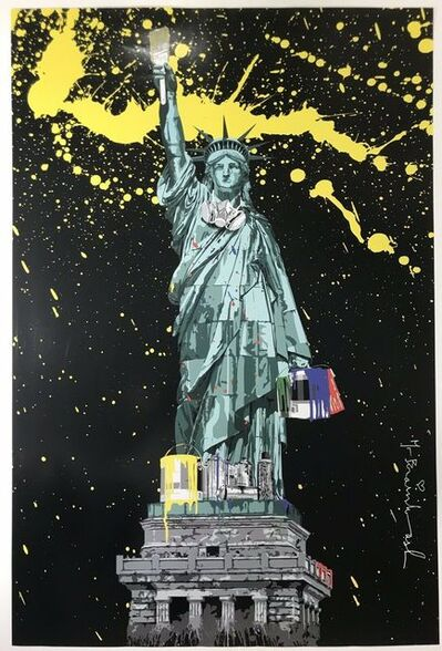 Mr. Brainwash, 'NYC Liberty ICONS SHOW', 2010