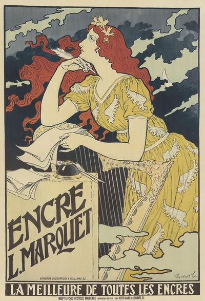 Eugène Samuel Grasset, 'Encre L. Marquet', 1892