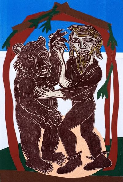 Eileen Cooper, 'Dancing Bear', 2019
