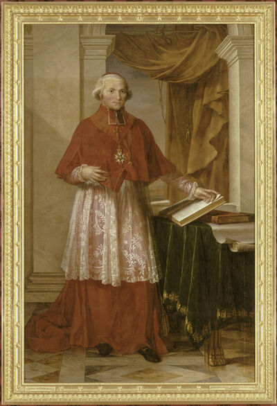 Charles Meynier, 'Portrait du cardinal Fesch en grand aumônier de l'Empire (Portrait of Cardinal Fesch, Grand Chaplain of the Empire)', 1806