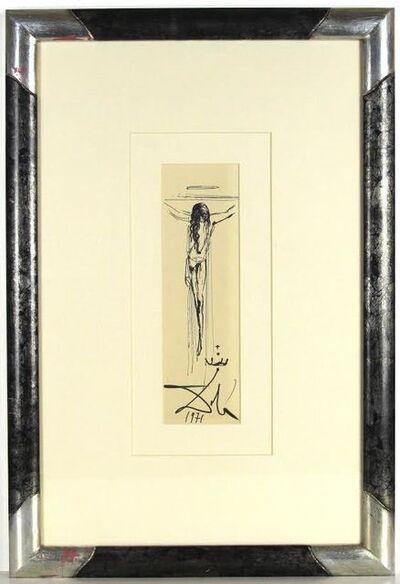 Salvador Dalí, 'Corpus Hypercubus', 1971