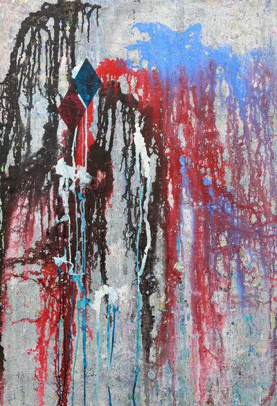 Hendrik Zimmer, 'O.T (Schwarz zu Blau)', 2016