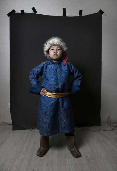 Sofie Knijff, 'Genghis Khan, Tales Series, Mongolia', 2015