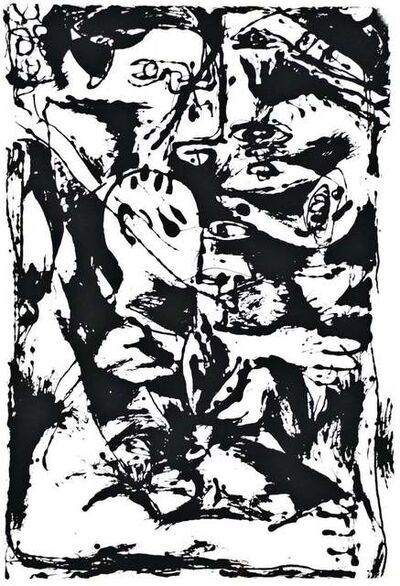 Jackson Pollock, 'Untitled - Expression no. 2', 1964