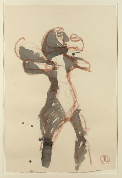 Markus Lüpertz, 'Sans titre', 1986