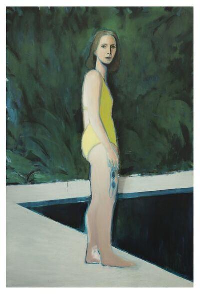 Jonathan Wateridge, 'Reflecting Pool', 2020