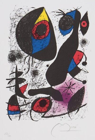 Joan Miró, 'Joan Miro a lencre 1972', 1972