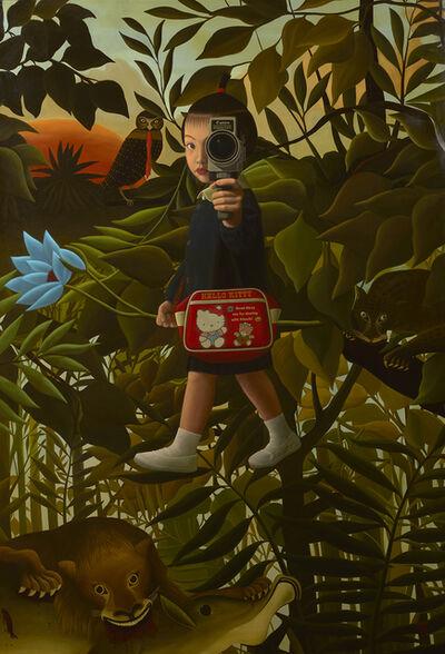 Mitsuru Watanabe, 'Naoko Walking in Rousseau's Forest', 2019