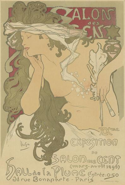 Alphonse Mucha, 'Salon des Cent / XXme Exposition', 1896