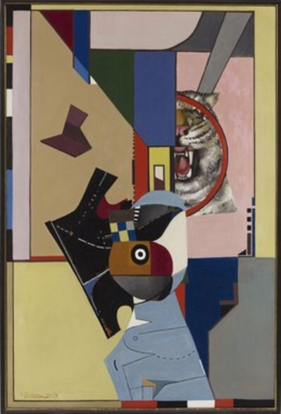 Richard Lindner, 'The Scream, The Cry', 1958