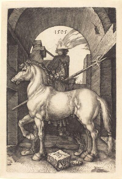 Albrecht Dürer, 'Small Horse', 1505