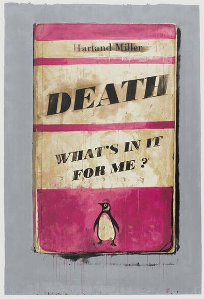 Harland Miller, 'Death, What's in It for Me?', 2011