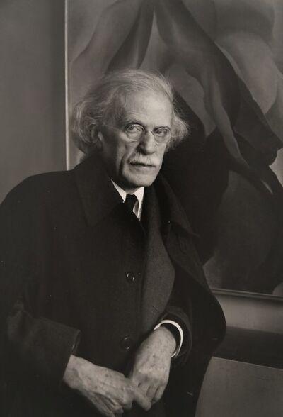 Imogen Cunningham, 'Alfred Stieglitz', 1934