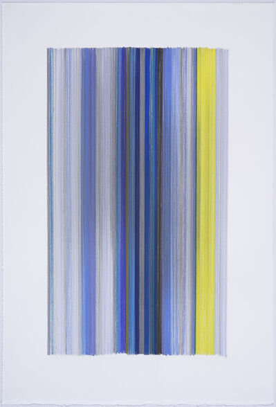 Anne Lindberg, 'an active silence 05', 2017