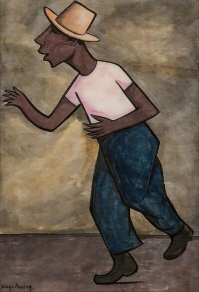 Diego Rivera, 'The Worker'