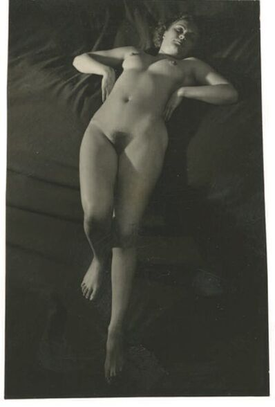 Brassaï, 'Contact Print of Female Nude, Paris', 1937-1938
