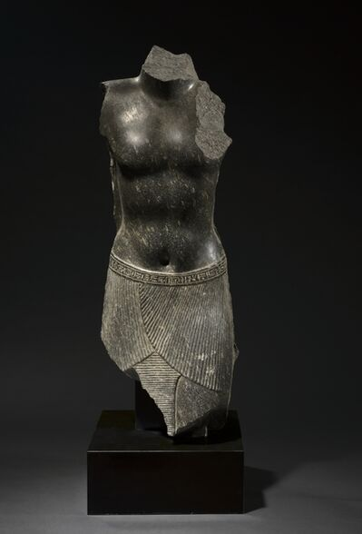 Egypt, Greco-Roman Period, Ptolemaic Dynasty, probably late 2nd century BC, 'Torso of Amenpayom', probably 200-100 BC
