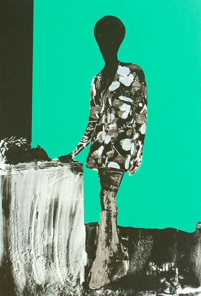 Hurvin Anderson, 'Mrs. S. Keita - Turquoise', 2010