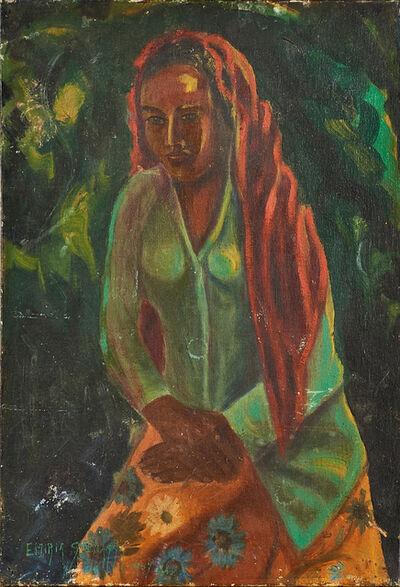 Emiria Soenassa, 'Untitled (Seated Woman)', 1947